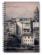 Old New District Spiral Notebook