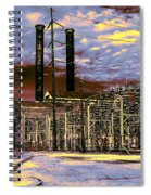 Old New Orleans Electric Plant Spiral Notebook
