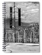 Old New Orleans Power Plant Spiral Notebook