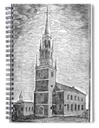 Old North Church, 1775 Spiral Notebook