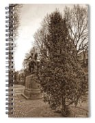 Old North Church And Paul Revere Spiral Notebook