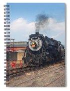 Old Number 3254 Under Steam Spiral Notebook