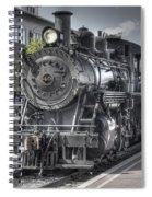 Old Number 40 Spiral Notebook