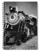 Old Number 90 Coming Home Spiral Notebook