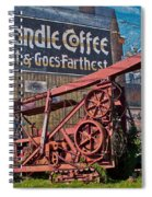 Old Oil Rig Spiral Notebook