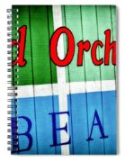 Old Orchard Beach Spiral Notebook