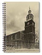 Old Otterbein Church Olde Tyme Photo Spiral Notebook