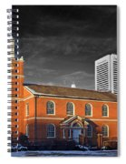 Old Otterbein U M C Selective Color Spiral Notebook