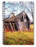 Old Ozark Home Spiral Notebook