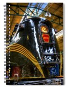 Old Pa Diesel Electric  Spiral Notebook