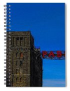 Old Pabst Brewery Spiral Notebook