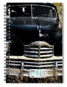Old Packard Spiral Notebook