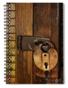 Old Padlock Spiral Notebook