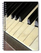 Old Piano Spiral Notebook