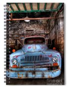 Old Pickup Truck Hdr Spiral Notebook