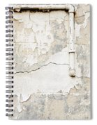 Old Pipes Background Spiral Notebook