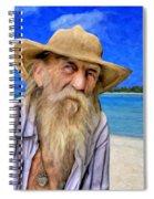 Old Pirate Bill Spiral Notebook