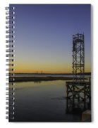 Old Pit Street Bridge To Ravenel Bridge Spiral Notebook