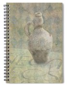 Old Pitcher Abstract Spiral Notebook
