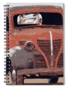 Old Plymouth Trucks Spiral Notebook