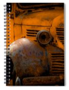 Old Plymouth Yellow Spiral Notebook