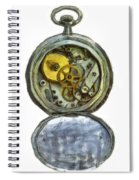Old Pocket Watch Spiral Notebook
