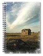 Old Prairie Homestead Spiral Notebook