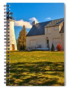 Old Presque Isle Lighthouse Spiral Notebook