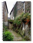 Old Quarter Of La Roche Bernard Spiral Notebook