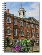 Old Queens Spiral Notebook