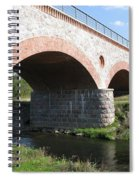 Old Railway Bridge In Silute. Lithuania. Summer Spiral Notebook