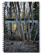 Old Railway Bridge Spiral Notebook