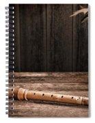 Old Recorder Spiral Notebook