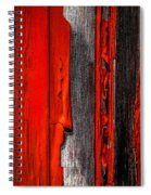 Old Red Barn Four Spiral Notebook
