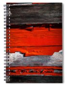 Old Red Barn Three Spiral Notebook
