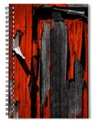 Old Red Barn Two 2 Spiral Notebook