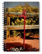 Old Red Pump Spiral Notebook