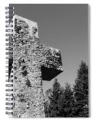 Old Rugged Cross Bw Spiral Notebook