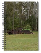 Old Rusted Truck Spiral Notebook