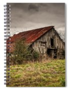 Old Rustic Barn Spiral Notebook
