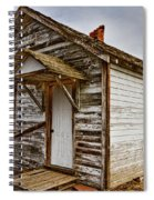 Old Rustic Rural Country Farm House Spiral Notebook