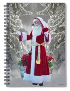 Old Saint Nick Spiral Notebook
