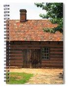 Winston-salem Nc - Old Salem Cottage Spiral Notebook