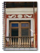 Old San Juan Balcony Spiral Notebook