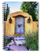 Old Santa Fe Gate Spiral Notebook