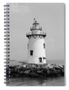 Old Saybrook Connecticut Lighthouse Spiral Notebook