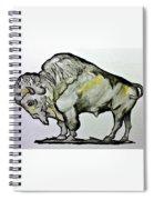 Old School Buffalo Spiral Notebook