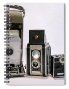 Old School Cameras Spiral Notebook