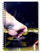 Old School Deejay 2 Spiral Notebook