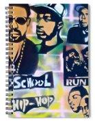 Old School Hip Hop 2 Spiral Notebook